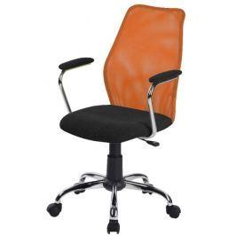 Tempo Kondela Kancelářská židle, oranžová, BST 2003