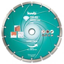Disk řezný diamantový GREEN LINE 230CD KWB