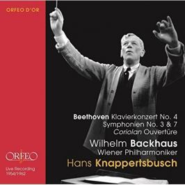 CD Ludwig van Beethoven : Hans Knappertsbusch conducts Beethoven