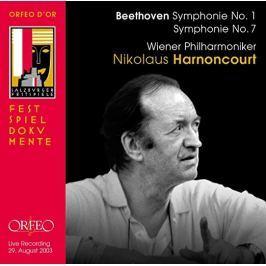 CD Ludwig van Beethoven : Symphonies Nos. 1 & 7