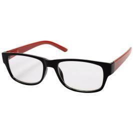 Hama Filtral čtecí brýle, plastové, černé/červené, +1.0 dpt