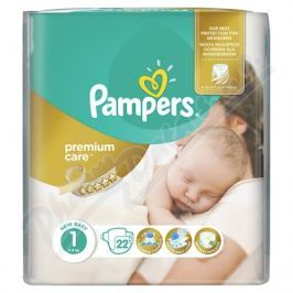 PROCTER GAMBLE Pampers Premium Care Pack S1 22 ks Newborn