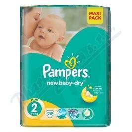 PROCTER GAMBLE PAMPERS New Baby 2 Mini 76ks