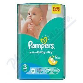 PROCTER GAMBLE PAMPERS Active Baby VPP 3 Midi 68ks