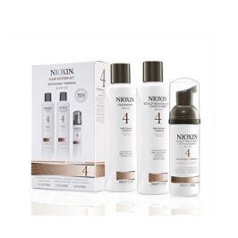 Nioxin Sada vlasové péče na jemné barvené výrazně řídnoucí vlasy System 4