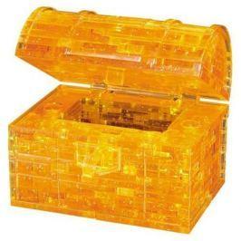 HCM KINZEL 3D Crystal puzzle (krystalové puzzle) - Pokladnička truhla s klíčem 52 dílků