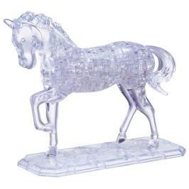 HCM KINZEL 3D Crystal puzzle (krystalové puzzle) - Kůň 100 dílků