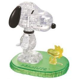 HCM KINZEL 3D Crystal puzzle (krystalové puzzle) - Snoopy & Woodstock
