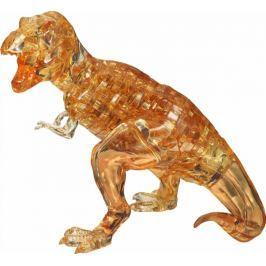 HCM KINZEL 3D Crystal puzzle (krystalové puzzle) : Tyranosaurus žlutý 49 dílků