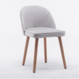 Tempo Kondela Židle, béžový vzor, LALIMA