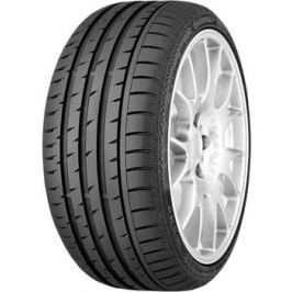 Continental 235/45R17 94W ContiSportContact 3 MO FR ML
