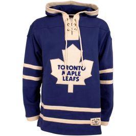 Old Time Hockey Pánská mikina s kapucí  Lacer Fleece NHL Toronto Maple Leafs, S
