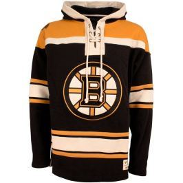 Old Time Hockey Pánská mikina s kapucí  Lacer Fleece NHL Boston Bruins, S