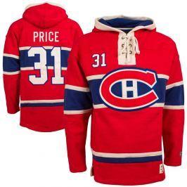 Old Time Hockey Pánská mikina s kapucí  Player Lacer Montreal Canadiens Carey Price 31, XL