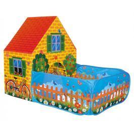 BINO Stan dětský  domeček se zahradou