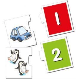 BINO poškozený obal:  Puzzle - Nauč se počítat