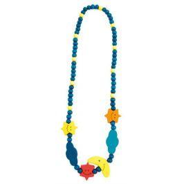 BINO Dřevěný náhrdelník: Noční obloha