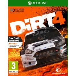 Codemasters Hra  Xbox One Dirt 4 předobjednávka