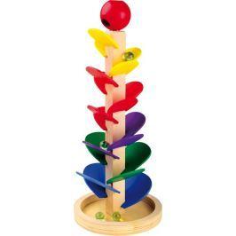Dřevěné hračky - Kuličková dráha se zvukem