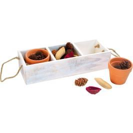 Dekorační krabička s přírodninami