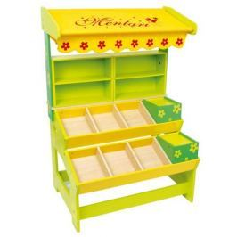 Dřevěná hračka - Dětský dřevěný prodejní stánek Max