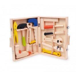 Dřevěné hračky - Kufřík dřevěné nářadí Lino