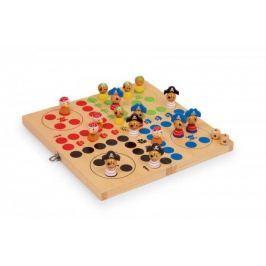 Dřevěné hry - Člověče nezlob se - piráti