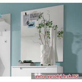 Tempo Kondela Zrcadlo, bílá extra vysoký lesk, SPACE