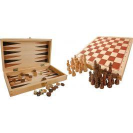 Tradiční hry v dřevěné krabičce