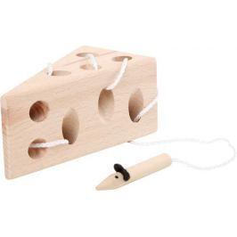 Hra na provlékání Sýr s myší - přírodní verze