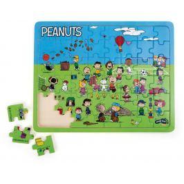 Vkládací puzzle Snoopy na hřišti