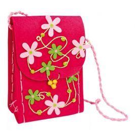 Dětská filcová kabelka přes rameno - Flora