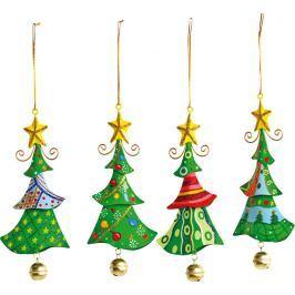 Kovový Vánoční stromeček 1ks