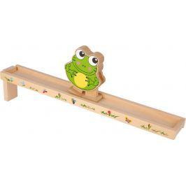 Dřevěná motorická dráha žabička