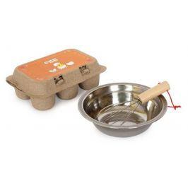 Dřevěné hračky - Kuchyně - Sada vajíčka odklopitelná