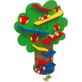 Dřevěné hračky - Kaskádová dráha strom