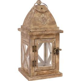 Dřevěné dekorace - Lampička Nora