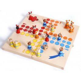 Dřevěné hry - Člověče nezlob se - zvířátka