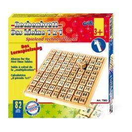 Dřevěné hračky - Školní pomůcky - Malá násobilka kostičky