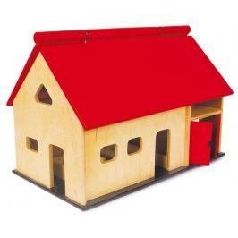 Dřevěné hračky - Velká dřevěná farma