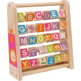 Dřevěná abeceda - Učíme se anglicky