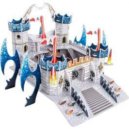 Třívrstvé pěnové 3D puzzle - 3D Dračí hrad