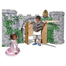 Rytířský hrad Avalon z pevné lepenky