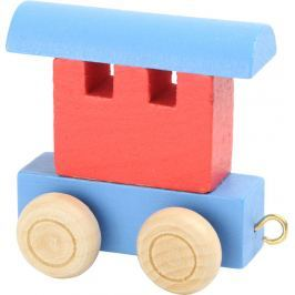 Vláčkodráha - Vláček abeceda - vagónek barevný