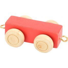 Vláčkodráha - Vláček abeceda - vagónek plochý barevný