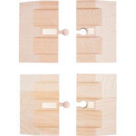 Dřevěná autodráha - Rampy 4 ks