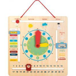 Edukativní kalendář s hodinami německý