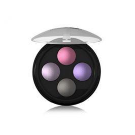 Lavera Třpytivé minerální oční stíny Quatro (Illuminating Eyeshadow Quattro) 2 g, No. 2 levandulové pole**