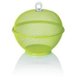KELA Koš na ovoce s poklopem COMO 26,5 cm, zelený
