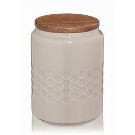 KELA Dóza MELIS keramika 0.8l šedá